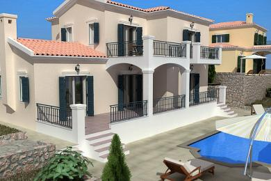Villa Sale - LOURDATA, MUNICIPALITY OF LIVATHOS - SOUTH